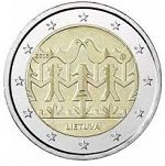 2 Euro Lithuania 2018