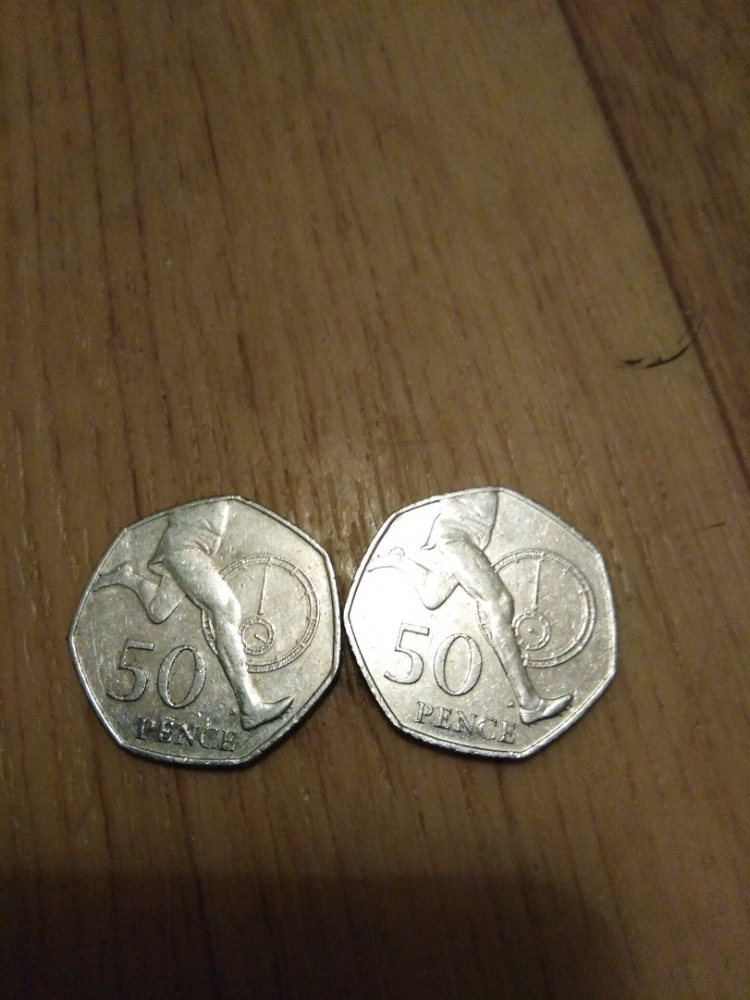 50 Pence United Kingdom (Great Britain) 2009, Elizabeth II, KM# 1047