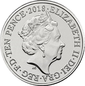 10 Pence United Kingdom (Great Britain) 2019, Elizabeth II