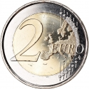2 Euro 2014, Schön# 609, Andorra, 20 Years in the Council of Europe