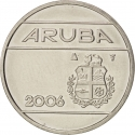25 Cents 1986-2016, KM# 3, Aruba, Beatrix, Willem-Alexander