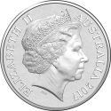 5 Cents 2017, Australia, Elizabeth II, 25th Anniversary of the Bananas in Pyjamas