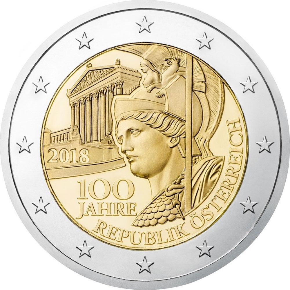 2 Euro Münzen österreich 2021