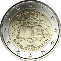 2 Euro 2007, KM# 3150, Austria, 50th Anniversary of the Treaty of Rome
