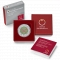 25 Euro 2017, Austria, Silver Niobium Coin, Microcosm, Box with a certificate of authenticity