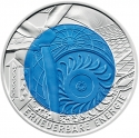 25 Euro 2010, KM# 3189, Austria, Silver Niobium Coin, Renewable Energy