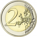 2 Euro 2011, KM# 308, Belgium, Albert II, 100th Anniversary of the International Women's Day