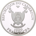 1000 Francs 2018, Cameroon, 2018 Football (Soccer) World Cup in Russia, Saint Petersburg