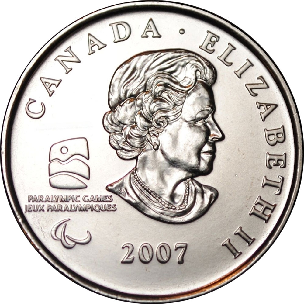 2007 CANADA OLYMPIC CURLING COMMEMORATIVE QUARTER combined shipping