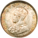 5 Cents 1911, KM# 16, Canada, George V