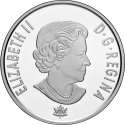 5 Cents 2017, Canada, Elizabeth II, 150th Anniversary of the Canadian Confederation, Living Traditions