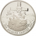 1 Dollar 1984, KM# 141, Canada, Elizabeth II, 450th Anniversary of Jacques Cartier's First Voyage