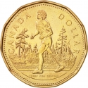 1 Dollar 2005, KM# 552, Canada, Elizabeth II, 25th Anniversary of Terry Fox's Marathon of Hope