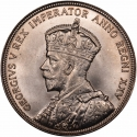 1 Dollar 1935, KM# 30, Canada, George V, 25th Anniversary of the Reign of King George V