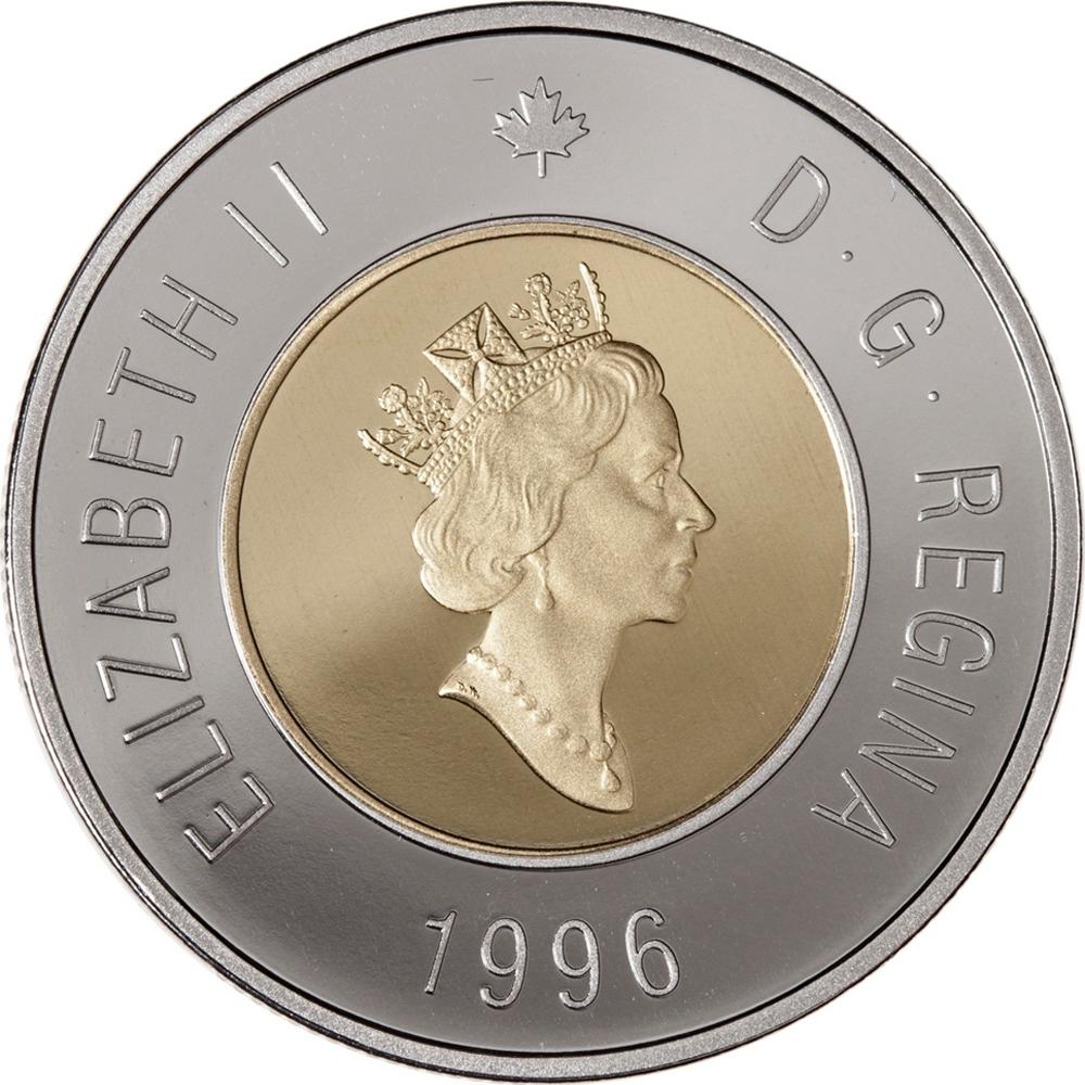 2 Dollars Canada 1996 2003 Km 270 Coinbrothers Catalog