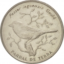 50 Escudos 1994, KM# 37, Cape Verde, Birds of Cape Verde, Iago Sparrow