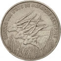 100 Francs 1992-2003, KM# 13, Central African States