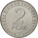 2 Francs 2006, KM# 17, Central African States