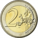2 Euro 2009, KM# 89, Cyprus, 10th Anniversary of the European Monetary Union and the Introduction of the Euro