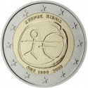 2 Euro 2009, KM# 89, Cyprus, 10th Anniversary of the European Monetary Union