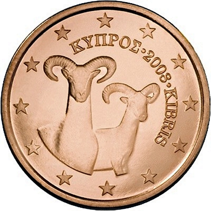 1 euro cent cyprus 2008 2018 km 78 coinbrothers catalog. Black Bedroom Furniture Sets. Home Design Ideas
