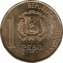 1 Peso 1991-2008, KM# 80, Dominican Republic