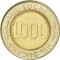 1000 Sucres 1997, KM# 103, Ecuador, 70th Anniversary of the Central Bank