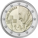 2 Euro 2016, Estonia, 100th Anniversary of Birth of Paul Keres