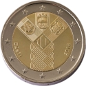 2 Euro 2018, Estonia, 100th Anniversary of Independence of the Baltic States