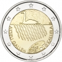 2 Euro 2015, KM# 230, Finland, Republic, 150th Anniversary of Birth of Akseli Gallen-Kallela