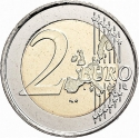 2 Euro 2005, KM# 119, Finland, Republic, 50th Anniversary of Finland's UN Membership