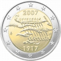 2 Euro 2007, KM# 139, Finland, Republic, 90th Anniversary of Independence of Finland