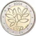 2 Euro 2004, KM# 114, Finland, Republic, Enlargement of the European Union