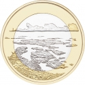 5 Euro 2018, Finland, Republic, Finnish National Landscapes, Archipelago Sea