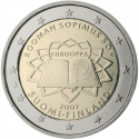 2 Euro 2007, KM# 138, Finland, Republic, 50th Anniversary of the Treaty of Rome