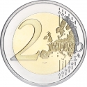 2 Euro 2015, Schön# 232, Finland, Republic, 30th Anniversary of the Flag of Europe