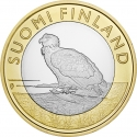 5 Euro 2014, KM# 209, Finland, Republic, Animals of the Provinces, Åland's White-tailed Eagle