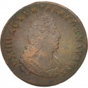 1 Liard 1693-1707, KM# 284, France, Kingdom, Louis XIV the Sun King