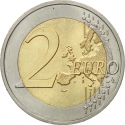 2 Euro 2007, KM# 1460, France, 50th Anniversary of the Treaty of Rome