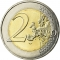 2 Euro 2015, KM# 2192, France, 30th Anniversary of the Flag of Europe