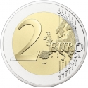 2 Euro 2019, France, 30th Anniversary of the Fall of the Berlin Wall