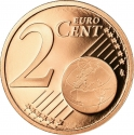 2 Euro Cent 1999-2020, KM# 1283, France