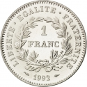 1 Franc 1992, KM# 1004.1, France, 200th Anniversary of the First French Republic