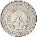 2 Mark 1972-1990, KM# 48, Germany, Democratic Republic (DDR)