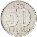 50 Pfennig 1958-1990, KM# 12, Germany, Democratic Republic (DDR)