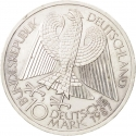10 Deutsche Mark 1987, KM# 166, Germany, Federal Republic, 750th Anniversary of Berlin