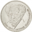 10 Deutsche Mark 1988, KM# 168, Germany, Federal Republic, 200th Anniversary of Birth of Arthur Schopenhauer