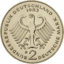 2 Deutsche Mark 1979-1993, KM# 149, Germany, Federal Republic, Anniversary of the Federal Republic of Germany, 30th Anniversary of the West Germany