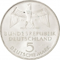 5 Deutsche Mark 1971, KM# 128.1, Germany, Federal Republic, 100th Anniversary of the Foundation of Germany