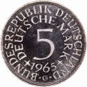 5 Deutsche Mark 1951-1974, KM# 112, Germany, Federal Republic